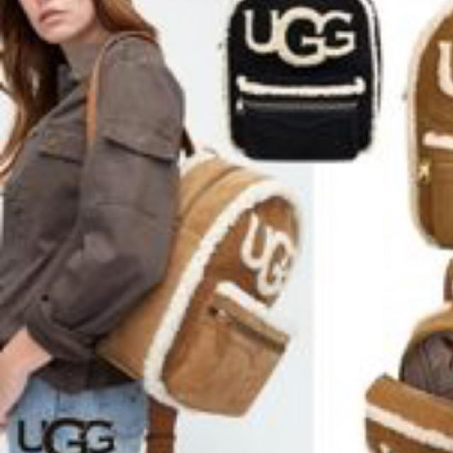 UGG(アグ)のアグ  UGG  ムートンバッグ  リュック レディースのバッグ(リュック/バックパック)の商品写真