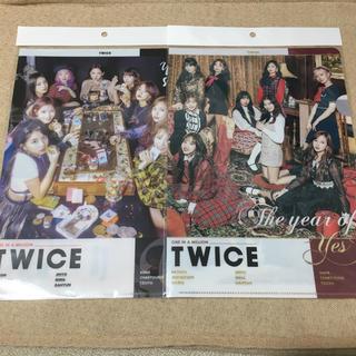 ウェストトゥワイス(Waste(twice))の TWICE クリアファイル2点(K-POP/アジア)