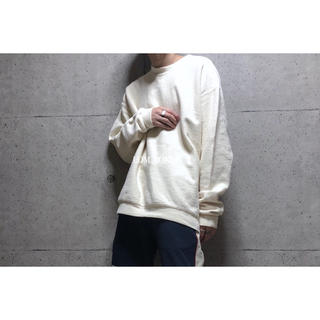 [used]natural color big sweat.(スウェット)