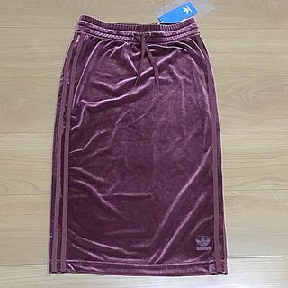 アディダス(adidas)のアディダスオリジナルス 新品 タイトスカート(ひざ丈スカート)