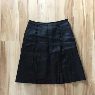 コムサイズム(COMME CA ISM)のコムサイズム 黒スカート(ひざ丈スカート)