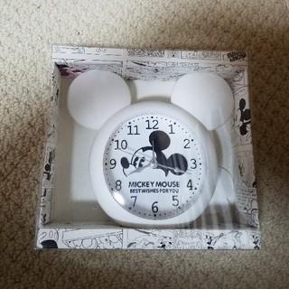 ディズニー(Disney)のMickey Mouseの置き時計(置時計)