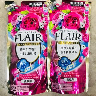 カオウ(花王)の人気商品  フレアフレグランス  フローラル&スウィート  2個セット(洗剤/柔軟剤)