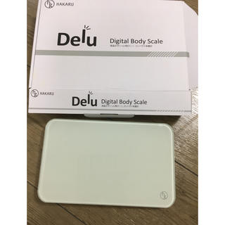 Delu コンパクト体重計(体重計)