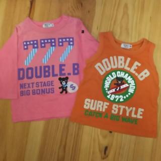 ダブルビー(DOUBLE.B)のダブルB 2点(Tシャツ)