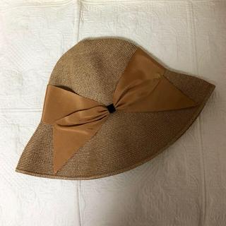 トゥモローランド(TOMORROWLAND)のアシーナニューヨーク 麦わら帽子(麦わら帽子/ストローハット)