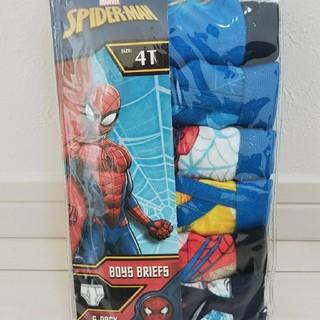ディズニー(Disney)の新品 スパイダーマン パンツ 6枚セット(下着)