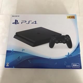 PlayStation4 - 新品未開封 PS4 500GB ブラック