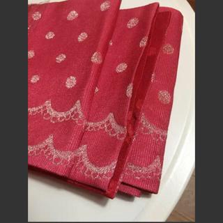 ツモリチサト(TSUMORI CHISATO)の値下げ‼︎◇tsumori chisatoツモリチサトの半巾帯◇日本製(浴衣帯)