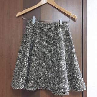 ダズリン(dazzlin)のダズリン  ツイードスカート(ひざ丈スカート)