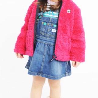エックスガールステージス(X-girl Stages)のx-girl stages×Lee/デニムワンピース/エックスガールステージズ(ワンピース)