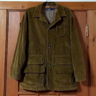 ラルフローレン(Ralph Lauren)の新品ラルフローレンMアーミー系コーデュロイ デザインジャケット コート キャメル(ミリタリージャケット)