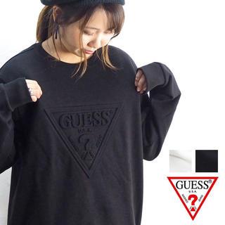 ゲス(GUESS)の新品 半額!! GUESS ゲス プルオーバー トレーナー  スウェット(スウェット)