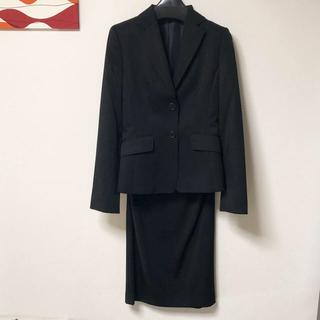 コムサイズム(COMME CA ISM)のコムサイズム  リクルートスーツ 7号 s xs 小さい 黒 卒業式 卒園式(スーツ)