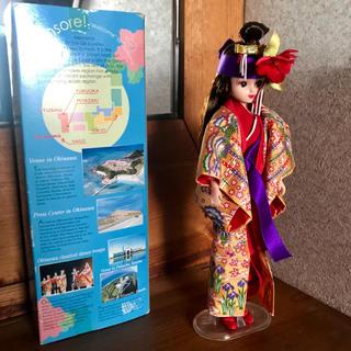 タカラトミー(Takara Tomy)の琉球 香山 リカちゃん 限定 紅型 人形 キャッスル 大人 沖縄 サミット(キャラクターグッズ)