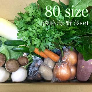 淡路島【 きまぐれ 】80 野菜set