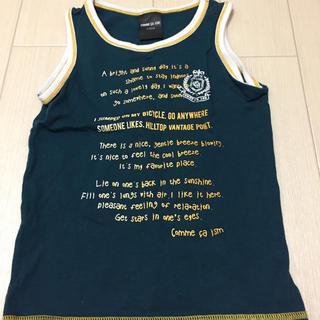 コムサイズム(COMME CA ISM)の100 コムサイズム ノースリーブ 男の子 コムサ タンクトップ Tシャツ(Tシャツ/カットソー)