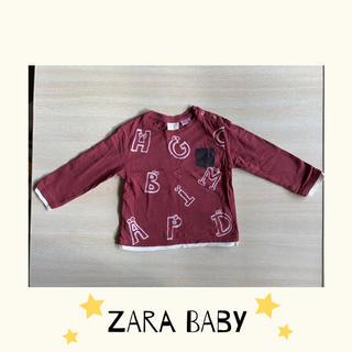 ザラキッズ(ZARA KIDS)の週末SALE☆ZARA babyトップス☆(Tシャツ)