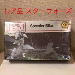 ★未開封レア品★ スターウォーズ スピーダーバイク プラモ1982年