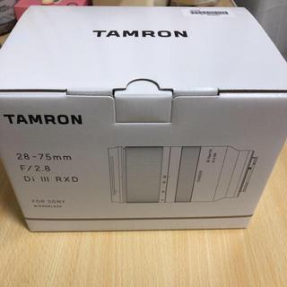 タムロン(TAMRON)のタムロン A036 28-75mm F/2.8 Di III RXD(レンズ(ズーム))