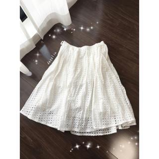 ダズリン(dazzlin)のダズリン♡レーススカート♡(ひざ丈スカート)