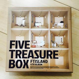 """エフティーアイランド(FTISLAND)のFTISLAND FIVE TREASURE BOX """"最終値下げ""""(K-POP/アジア)"""