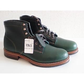 ウルヴァリン(WOLVERINE)の未使用、新品、WOLVERINE ウルヴァリン 1000マイルブーツ 綺麗な緑(ブーツ)