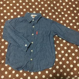ディズニー(Disney)のミッキー シャツ  100(ジャケット/上着)