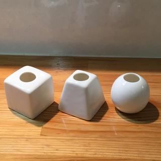 一輪挿しオブジェ 3個セット(花瓶)