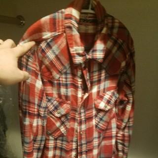 ティーエムティー(TMT)のTMT チェックシャツ ネルシャツ(シャツ)