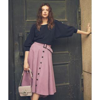 ノエラ(Noela)のNoela テールカットボリュームスカート S ラベンダー(ひざ丈スカート)