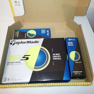 テーラーメイド(TaylorMade)の未使用新品‼️テーラーメード ゴルフボール TP5 イエロー 6スリーブ(その他)
