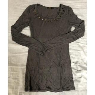 シェルターオリジナル(Shel'tter ORIGINAL)のロンT Tシャツ ビジュー トップス  シェルター Shel'tter (Tシャツ(長袖/七分))