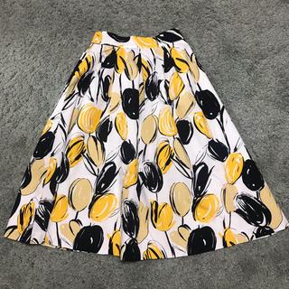 グラマラスガーデン(GLAMOROUS GARDEN)の花柄 スカート(ひざ丈スカート)
