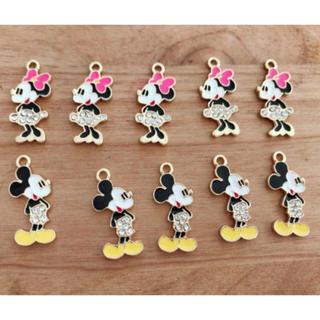 ディズニー(Disney)の【New!】ストーン付 チャーム セット(各種パーツ)