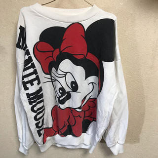 ディズニー(Disney)の90s ミニーマウス スウェット 古着 ビンテージ ディズニー ミッキー(トレーナー/スウェット)