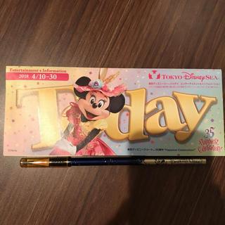 ディズニー(Disney)のディズニーシー Disney TODAY(印刷物)