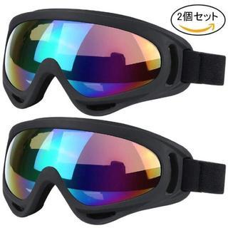 スキーゴーグル スノボゴーグル UV400 紫外線カット2セット ¥(ブーツ)