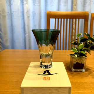 トウヨウササキガラス(東洋佐々木ガラス)の八千代切子 万華鏡 杯(菊柄)【日本製】(グラス/カップ)