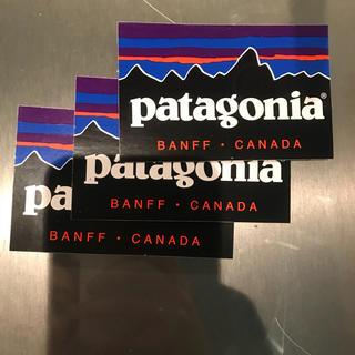 パタゴニア(patagonia)のパタゴニアステッカー二枚(ステッカー)