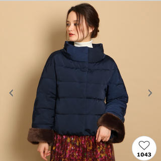 クチュールブローチ(Couture Brooch)のクチュールブローチ(ダウンコート)