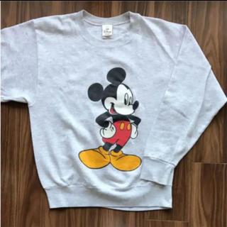 ディズニー(Disney)の☆USA製☆ディズニーオフィシャル ミッキー トレーナー スウェット(トレーナー/スウェット)