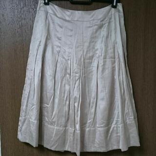 イネド(INED)の☆中古☆INED 11号 Lサイズ スカート ㈱フランドル(ひざ丈スカート)