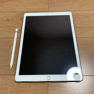 Apple - ipad pro 12.9インチ 128G apple pencil セット
