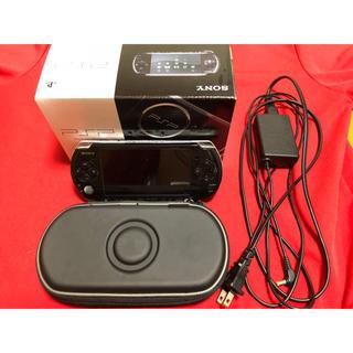 プレイステーションポータブル(PlayStation Portable)の【大特価カセット付き】PSP 3000本体 (充電器、メモリーカード)(携帯用ゲーム本体)
