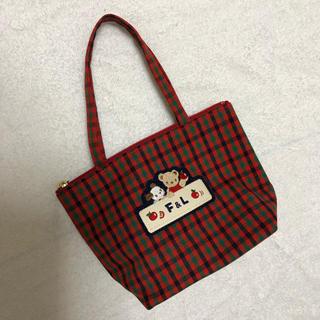 familiar - 廃盤商品!!新品♡ファミリア♡ミニバッグ 赤