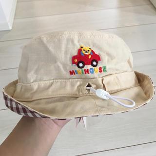 mikihouse - 新品未使用♡プッチー リバーシブル帽子