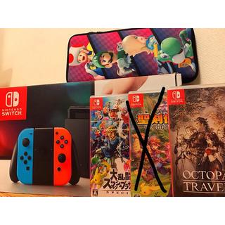 Nintendo Switch - 【稼働良好‼️】任天堂 スイッチ ソフト2本 アクセサリーセット‼️