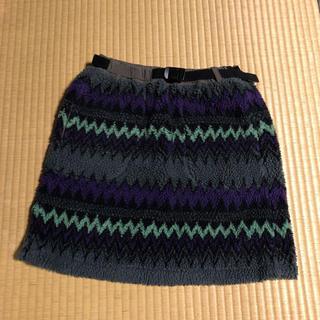 美品 AIGLE 山ガールスカート Sサイズ