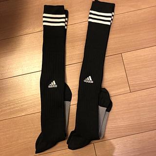 アディダス(adidas)の未使用品と試着のみ アディダスサッカーソックス(その他)